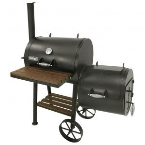 24-In. Bayou Smoker Grill - Perfectionistic Patio Chefs Love It