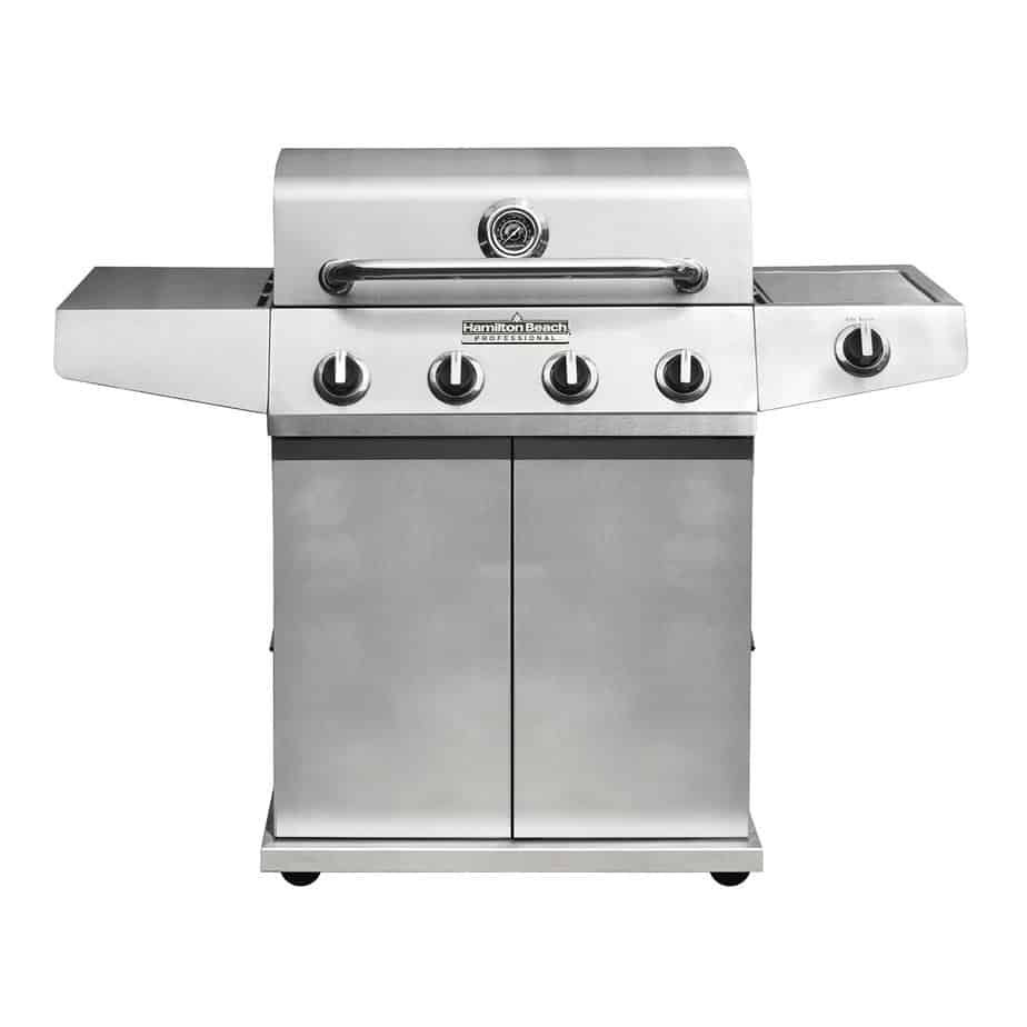 Hamilton Beach Gas Grill, 10-Minute Quick Assembly with 5 Burners (84341)