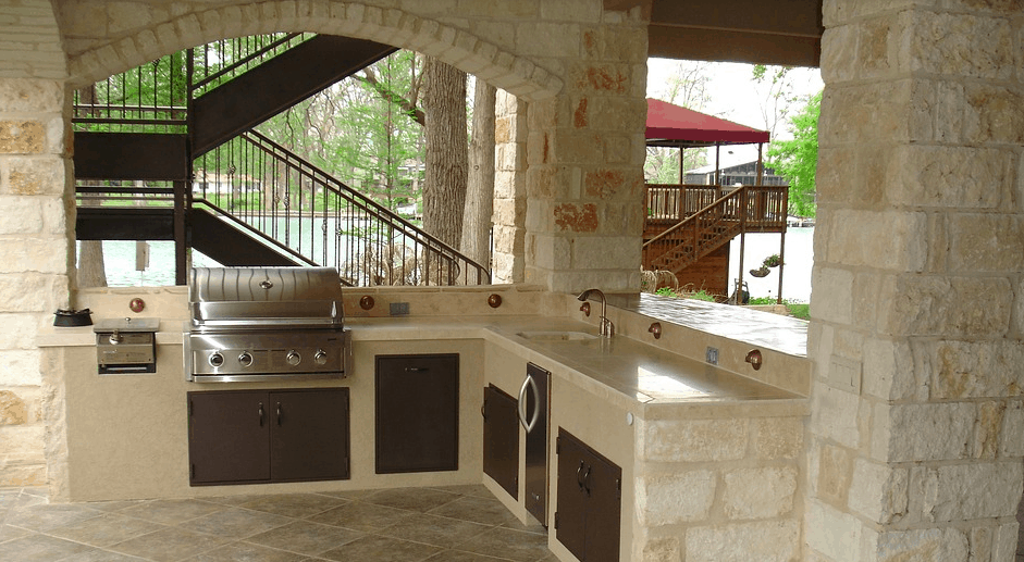 Outdoor Kitchen Ideas: How to Create The Ultimate Outdoor ... on granite outdoor kitchen countertops, granite kitchen cabinets, granite kitchen remodel ideas, granite outdoor fireplaces, granite kitchen design ideas, granite kitchen islands,