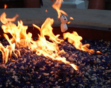 outdoor propane firepits