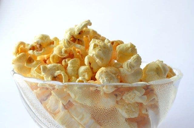 snack in bowl