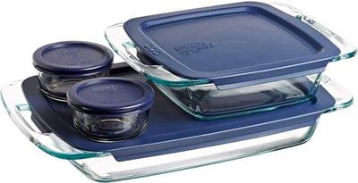 Pyrex Easy Grab Glass Bakeware Set