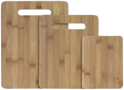 Totally Bamboo 3-Piece Bamboo Serving