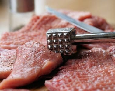 Hammer the beef