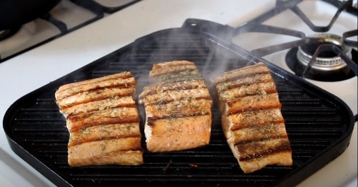 Cooking a Salmons