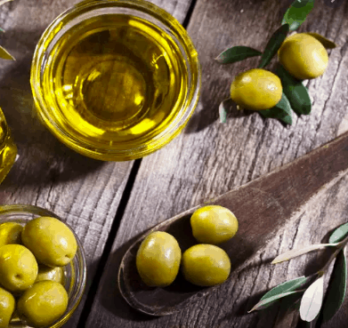 oil from olives