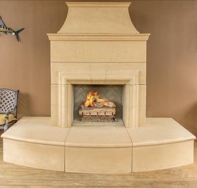 American Fyre Designs Cordova 110 inch