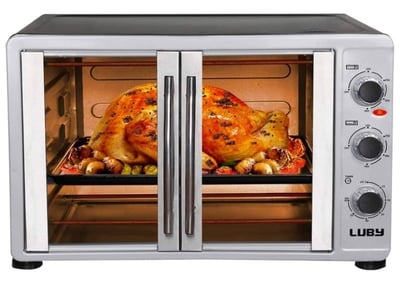 Luby Large Countertop French Door Toaster