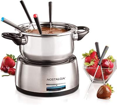 Nostalgia FPS200 6-Cup Stainless Steel Electric