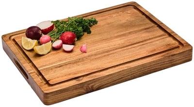 Sonder Los Angeles Large Reversible Multipurpose Thick Acacia Wood Cutting Board