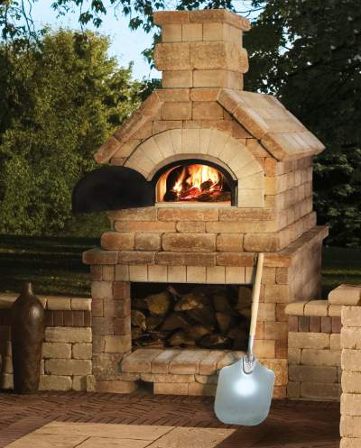 Chicago Brick Oven Built In Wood Fired Pizza Oven