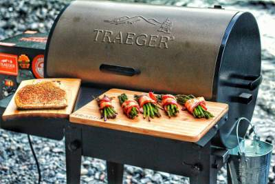 newly purchased Traeger Tailgater Grill