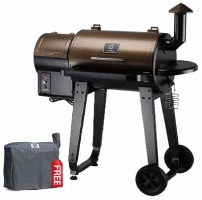 ZPG-450A 2020 Upgrade Wood Pellet Grill & Smoker