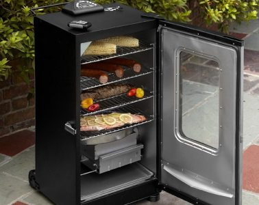 how to clean electric smoker