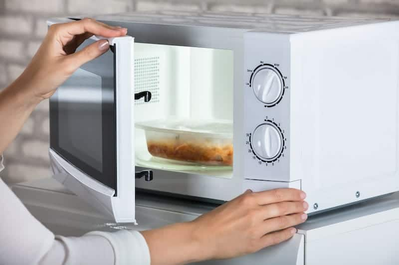 Plastic in the Microwave
