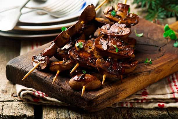 Balsamic Grilled Mushrooms