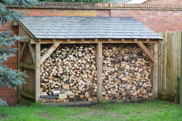 Cover for Your Firewood Storage Rack