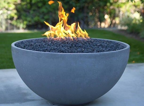 Flower pot fire pit
