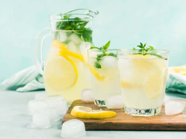 Grilled Lemonade & Vodka