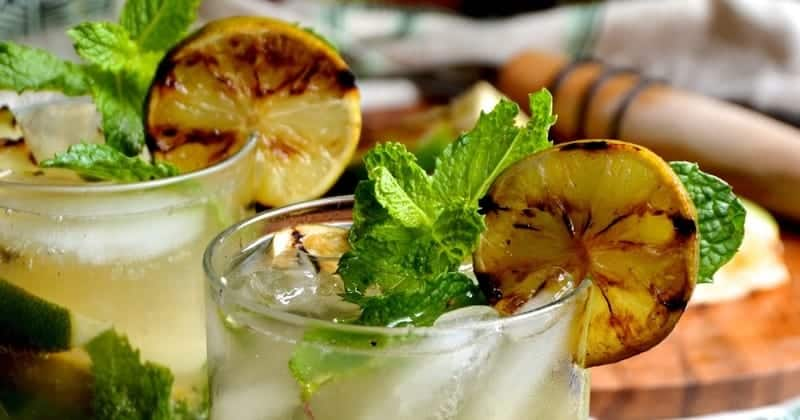 Grilled Lime Mojitos Recipe