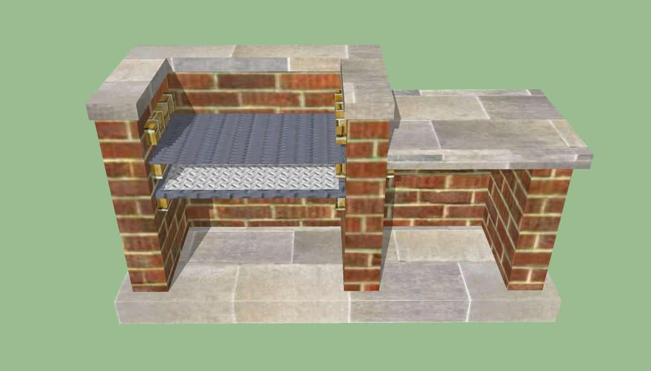 brick grill designs