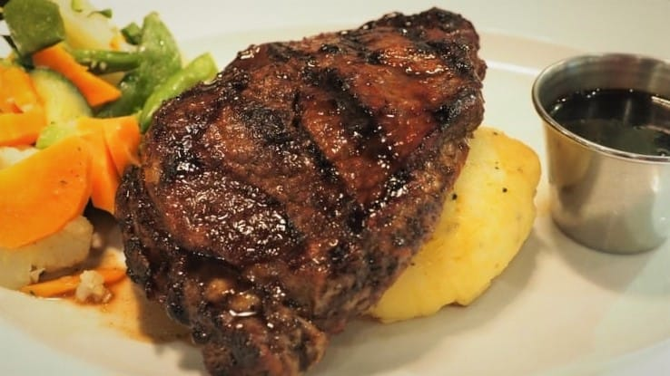Smoked and Grilled Pork Chop Recipe