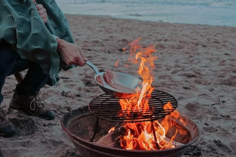 beach grilling ideas