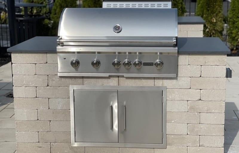 diy grill station