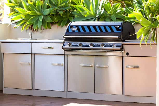 how to run natural gas line for outdoor grill