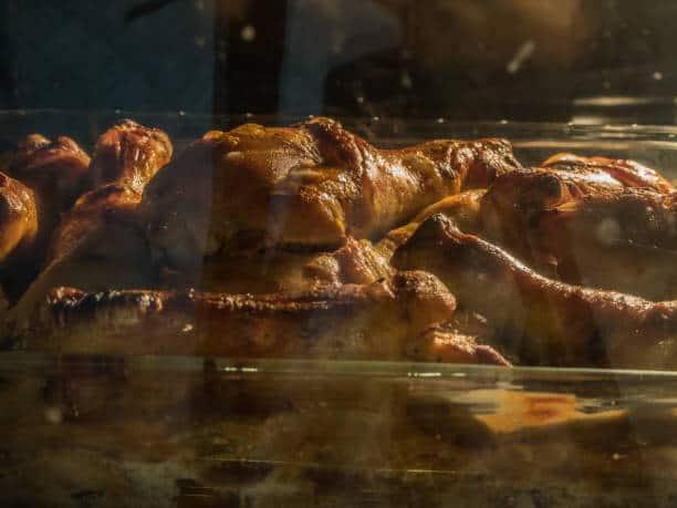 reheating a chicken