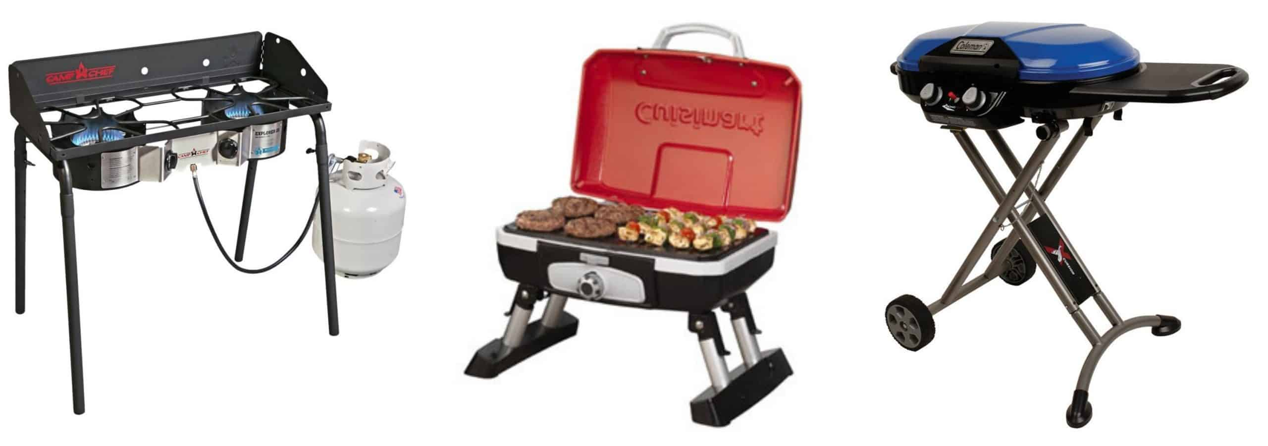 product testing for camping grill
