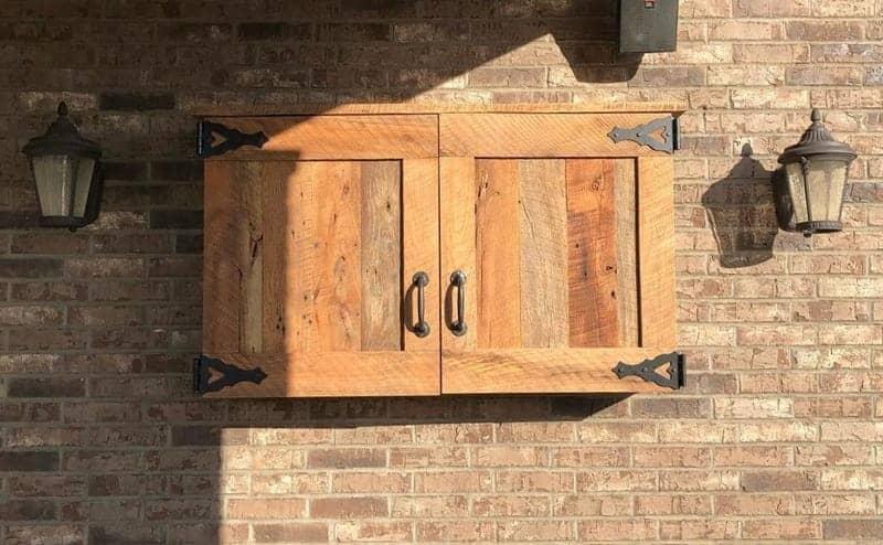 diy outdoor tv cabinet