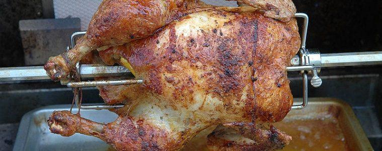 roasting a chicken
